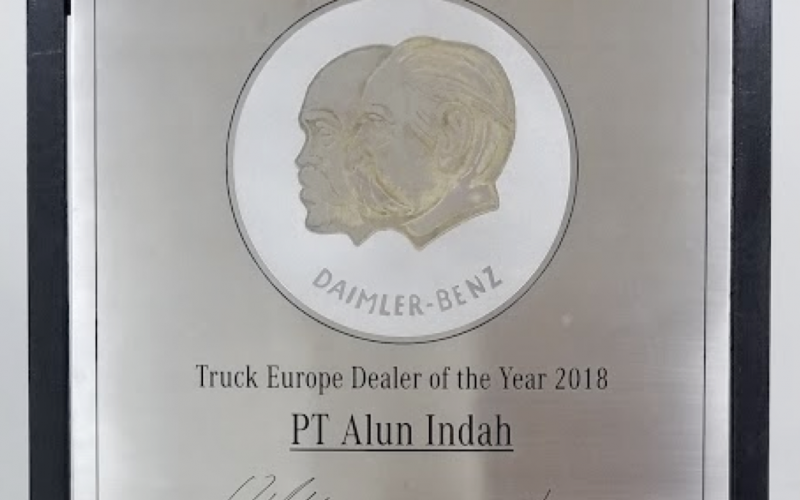 Mercedes Benz Commercial Vehicles - Truck Europe Dealer of The Year 2018