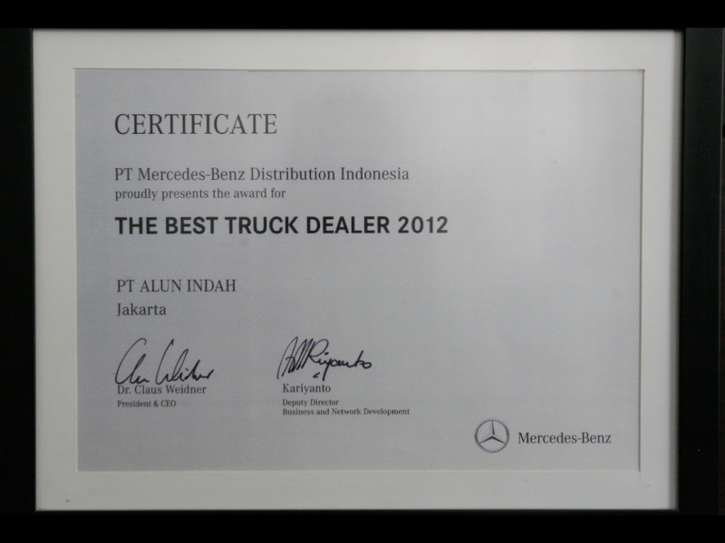 Mercedes Benz Commercial Vehicles - The Best Truck Dealer 2014